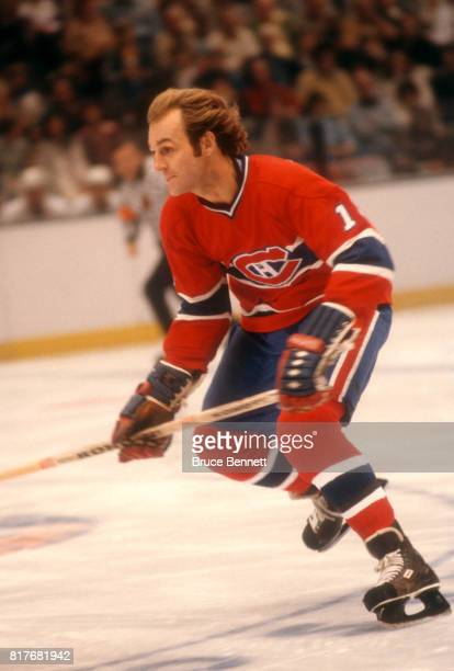 Guy Lafleur of the Montreal Canadiens skates on the ice during an NHL game against the New York Islanders on October 17 1978 at the Nassau Coliseum...