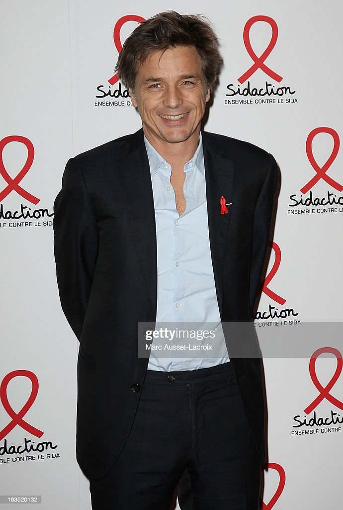 Guy Lagache poses during the Sidaction 2013 - Photocall at Musee du Quai Branly on March 11, 2013 in Paris, France.