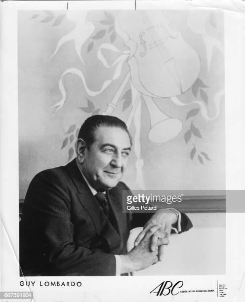 Guy Lombardo studio portrait United States 1960