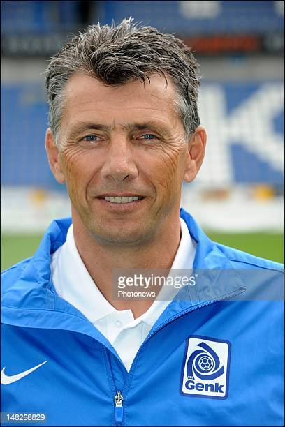 Guy Martens Goalkeepers Coach during the KRC Genk official team picture for the new season 2012 2013 Jupiler Pro League at the Cristal Arena on July...