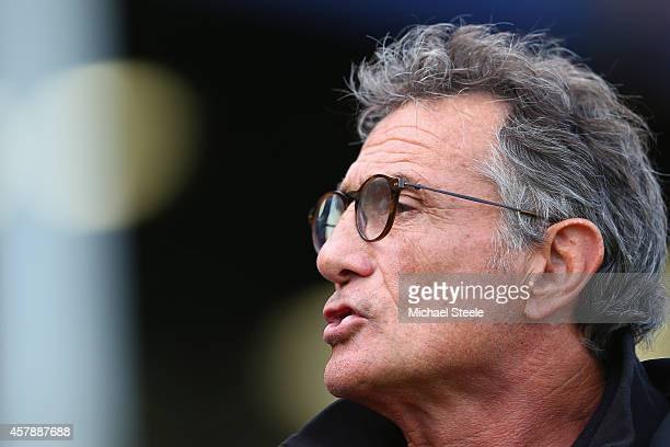 Guy Noves the Director of rugby of Toulouse during the European Rugby Champions Cup Pool Four match between Bath Rugby and Toulouse at the Recreation...