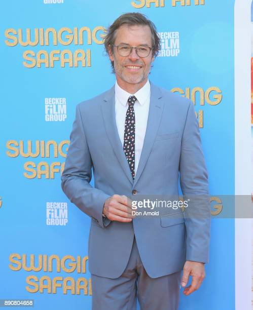 Guy Pearce attends the world premiere of Swinging Safari on December 12 2017 in Sydney Australia