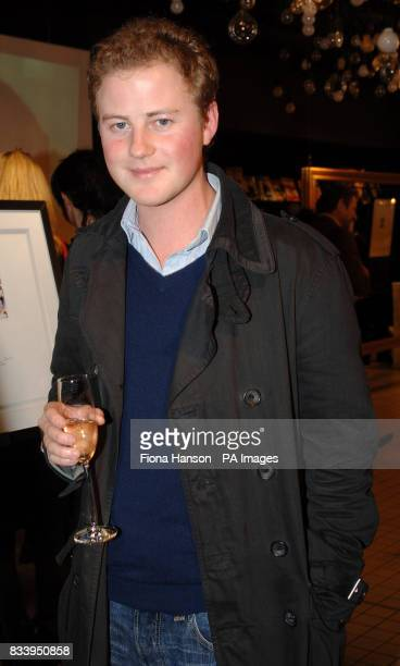 Guy Pelly a friend of Prince William attends an exhibition of limited edition photgraphs of celebrities by Alistair Morrison at the Bluebird London...