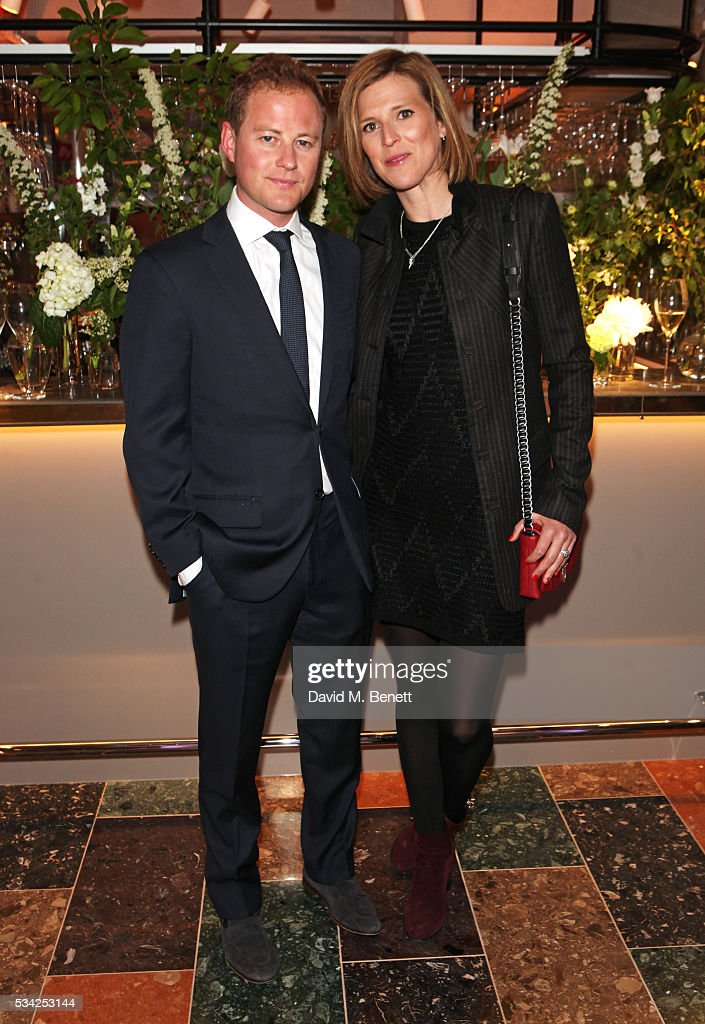 <a gi-track='captionPersonalityLinkClicked' href=/galleries/search?phrase=Guy+Pelly&family=editorial&specificpeople=847741 ng-click='$event.stopPropagation()'>Guy Pelly</a> (L) and Elizabeth Wilson attend the London Evening Standard Londoner's Diary 100th Birthday Party in partnership with Harvey Nichols at Harvey Nichols on May 25, 2016 in London, England.