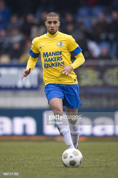 Guy Ramos of RKC Waalwijk during the Dutch Eredivisie match between RKC Waalwijk and ADO Den Haag at the Mandemakers Stadium on march 31 2013 in...
