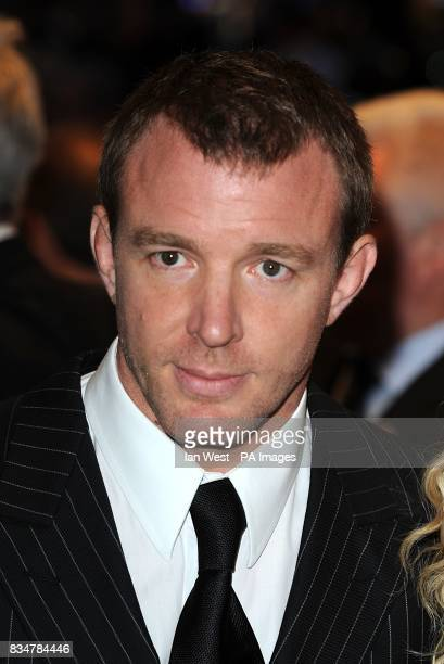 Guy Ritchie arrives for the UK Film Premiere of RocknRolla at the Odeon West End Cinema Leicester Square London