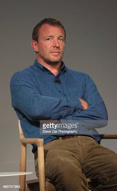 Guy Ritchie attends Apple Store Soho Presents Meet the Filmmaker Guy Ritchie And Lionel Wigram 'The Man From UNCLE' at Apple Store Soho on August 12...
