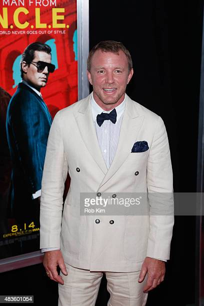 Guy Ritchie attends the New York Premiere for 'The Man From UNCLE' at Ziegfeld Theater on August 10 2015 in New York City