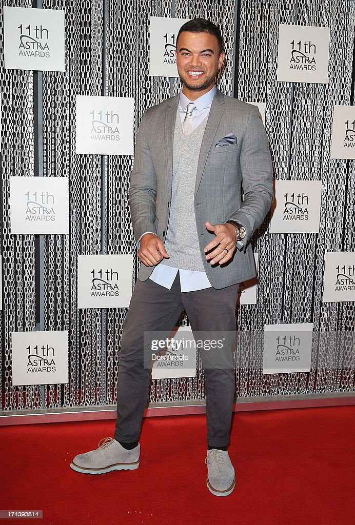 <a gi-track='captionPersonalityLinkClicked' href=/galleries/search?phrase=Guy+Sebastian&family=editorial&specificpeople=202665 ng-click='$event.stopPropagation()'>Guy Sebastian</a> arrives at the 11th Annual ASTRA Awards at Sydney Theatre on July 25, 2013 in Sydney, Australia.