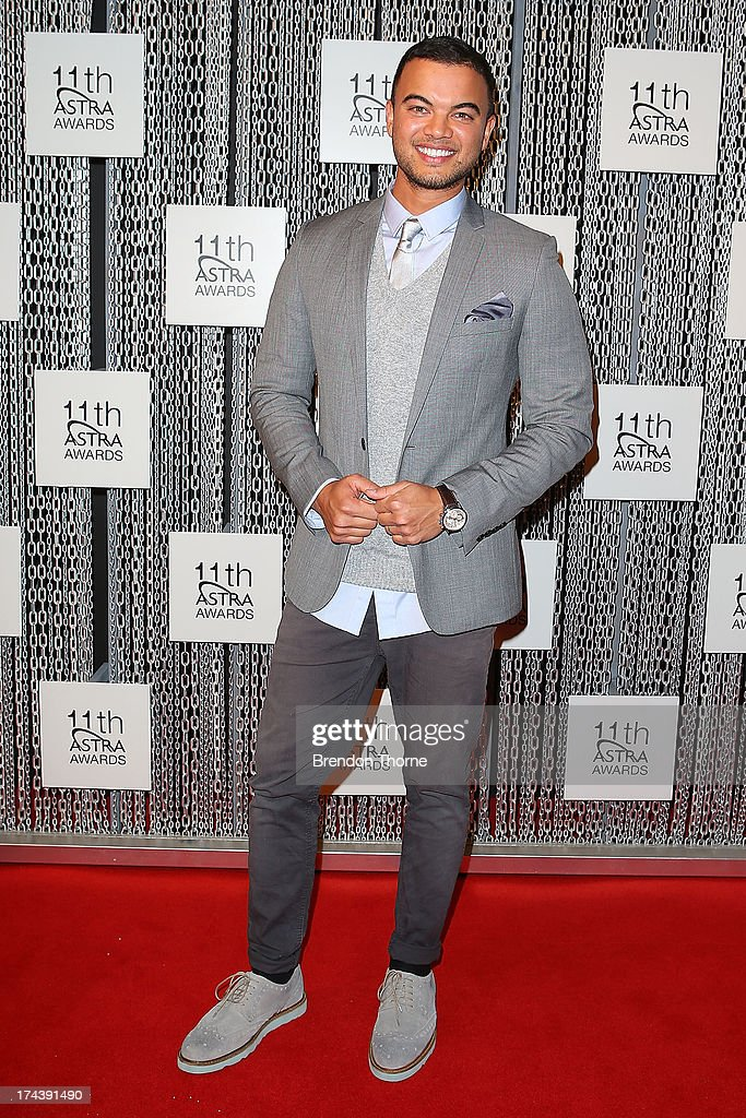 <a gi-track='captionPersonalityLinkClicked' href=/galleries/search?phrase=Guy+Sebastian&family=editorial&specificpeople=202665 ng-click='$event.stopPropagation()'>Guy Sebastian</a> arrives at the 11th Annual ASTRA Awards at the Sydney Theatre on July 25, 2013 in Sydney, Australia.