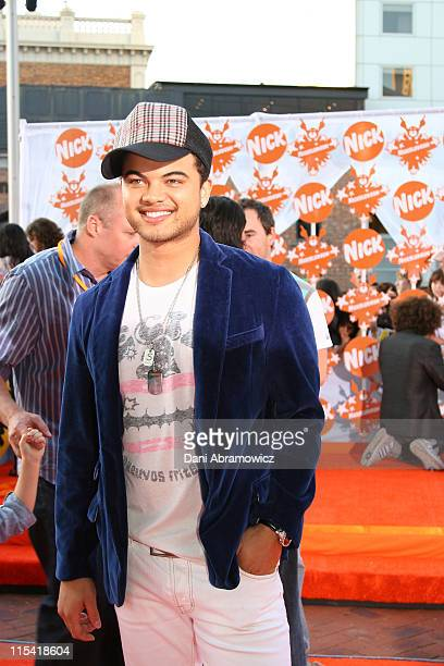 Guy Sebastian during Nickelodeon Australian Kids' Choice Awards 2006 Red Carpet at Sydney Entertainment Centre in Sydney NSW Australia