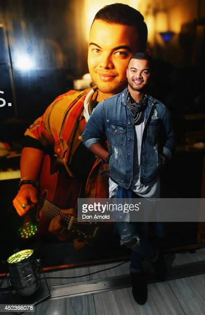 Guy Sebastian poses at Bose Westfield on July 19 2014 in Sydney Australia
