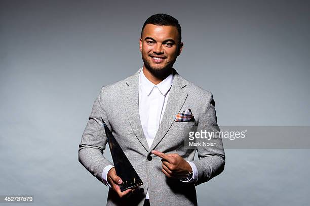Guy Sebastian poses for a portrait during the 27th Annual ARIA Awards 2013 at the Star on December 1 2013 in Sydney Australia