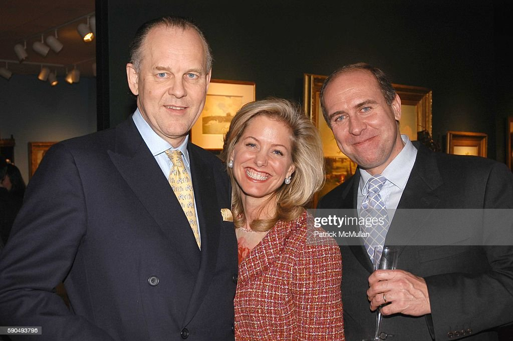 Guy St James Catherine Rogers and Grant Rogers attend The 51st Annual Winter Antiques Show Young Collector's Night at The Seventh Regiment Armory on...