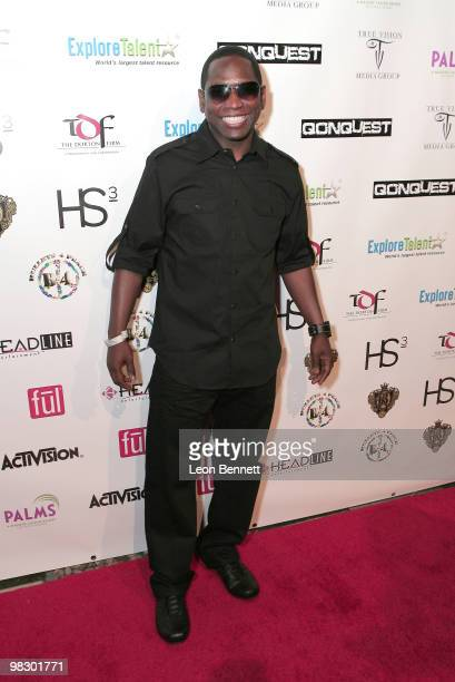 Guy Torry arrives at Boulevard3 on April 6 2010 in Hollywood California