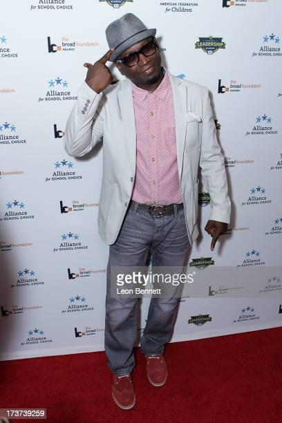 Guy Torry attended The Champions For Choice In Education ESPYs Kickoff Cocktail Party at Ritz Carlton on July 16 2013 in Los Angeles California