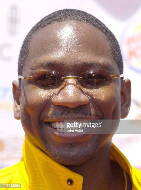 Guy Torry during 'A Midsummer Night's Magic' Celebrity and AllStar Charity Basketball Game at The Great Western Forum in Inglewood California United...