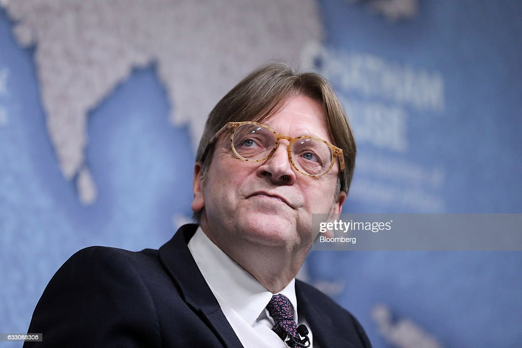 Brexit Negotiator Guy Verhofstadt Delivers Chatham House Speech