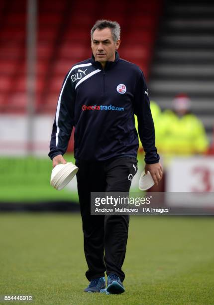 Guy Whittingham Crawley Town Firstteam coach