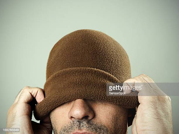 Mann mit Hut