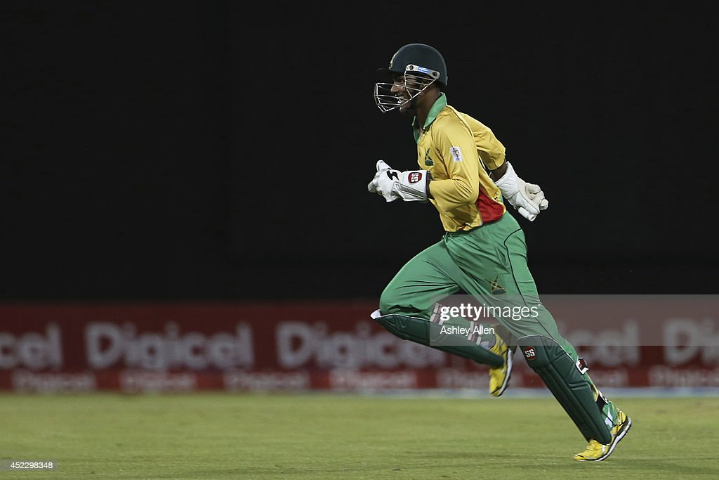 Guyana Amazon Warriors v The Red Steel - CPL 2014