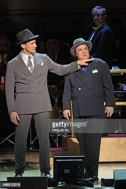 'Guys and Dolls' at Carnegie Hall on Thursday night April 3 2014This imagePatrick Wilson left and Nathan Lane