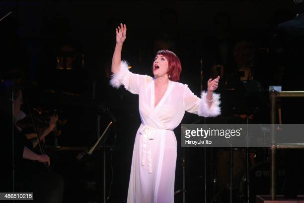 'Guys and Dolls' at Carnegie Hall on Thursday night April 3 2014This imageMegan Mullally