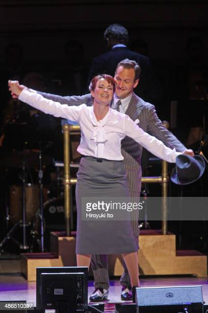 'Guys and Dolls' at Carnegie Hall on Thursday night April 3 2014This imageSierra Boggess and Patrick Wilson