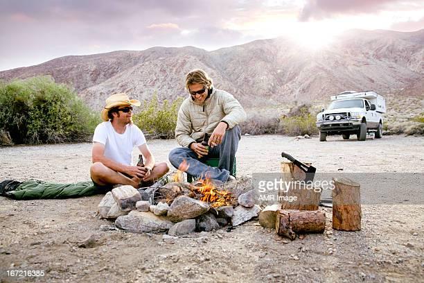 Guys camping trip