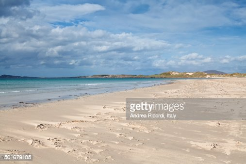 Gweedore Bay, Irish sandy beach