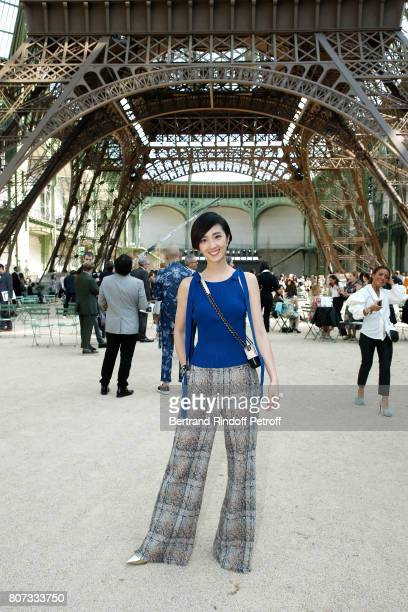 Gwei LunMei attends the Chanel Haute Couture Fall/Winter 20172018 show as part of Haute Couture Paris Fashion Week on July 4 2017 in Paris France