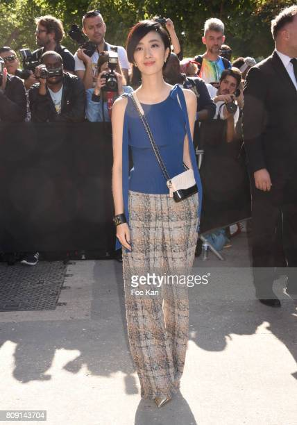 Gwei LunMei attends the Chanel Haute Couture Fall/Winter 20172018 show as part of Paris Fashion Week on July 4 2017 in Paris France