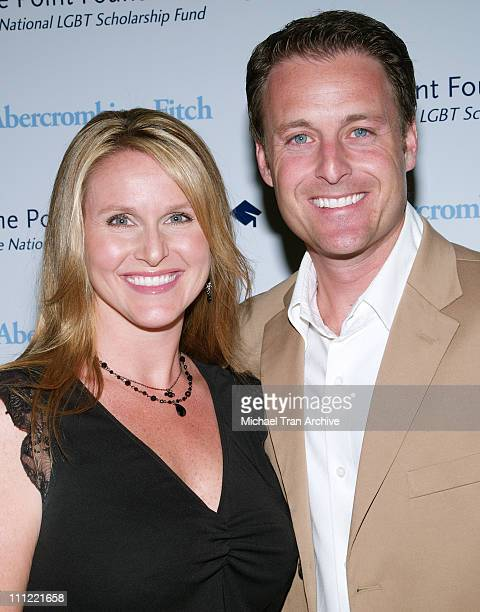 Gwen Harrison and Chris Harrison during The Pointer Foundation Host The 1st Annual LGBT Stars of Tomorrow Benefit at DGA in Hollywood California...