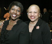 Gwen Ifill PBS Anchor and Dr Jane Smith during 7th Annual NCNW Uncommon Height Gala at JW Marriott Hotel in Washington DC District of Columbia United...