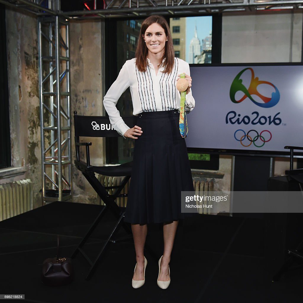 AOL Build Presents Gwen Jorgensen Discussing Her Win In The Rio 2016 Olympics Triathlon
