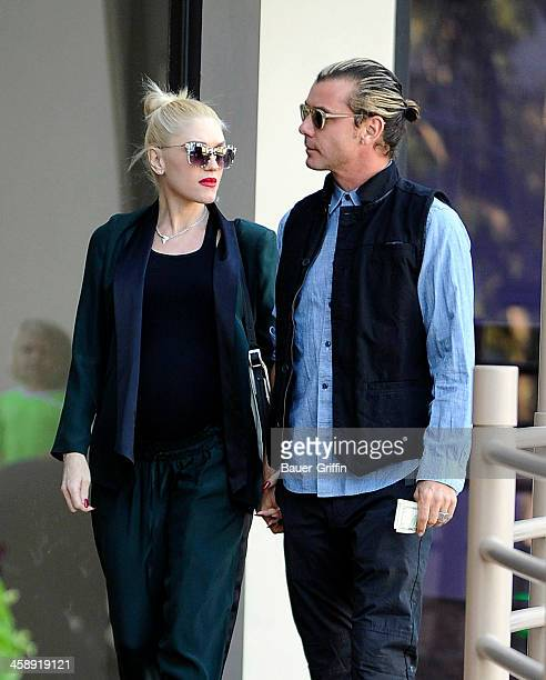 Gwen Stefani and Gavin Rossdale are seen on December 22 2013 in Los Angeles California