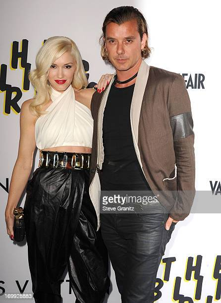 Gwen Stefani and Gavin Rossdale arrives at the 'The Bling Ring' Los Angeles Premiere at Directors Guild Of America on June 4 2013 in Los Angeles...