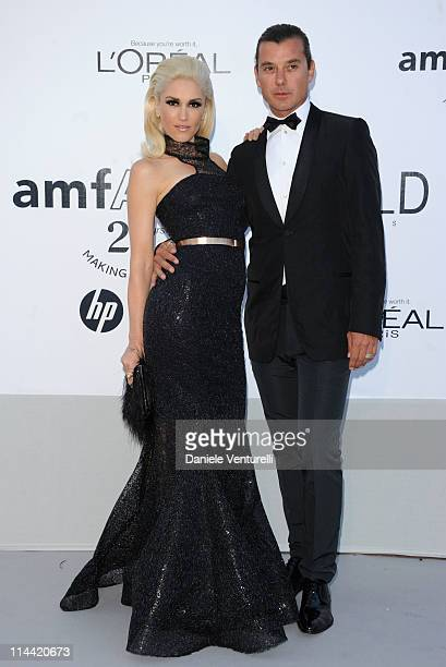 Gwen Stefani and Gavin Rossdale attend amfAR's Cinema Against AIDS Gala during the 64th Annual Cannes Film Festival at Hotel Du Cap on May 19 2011 in...