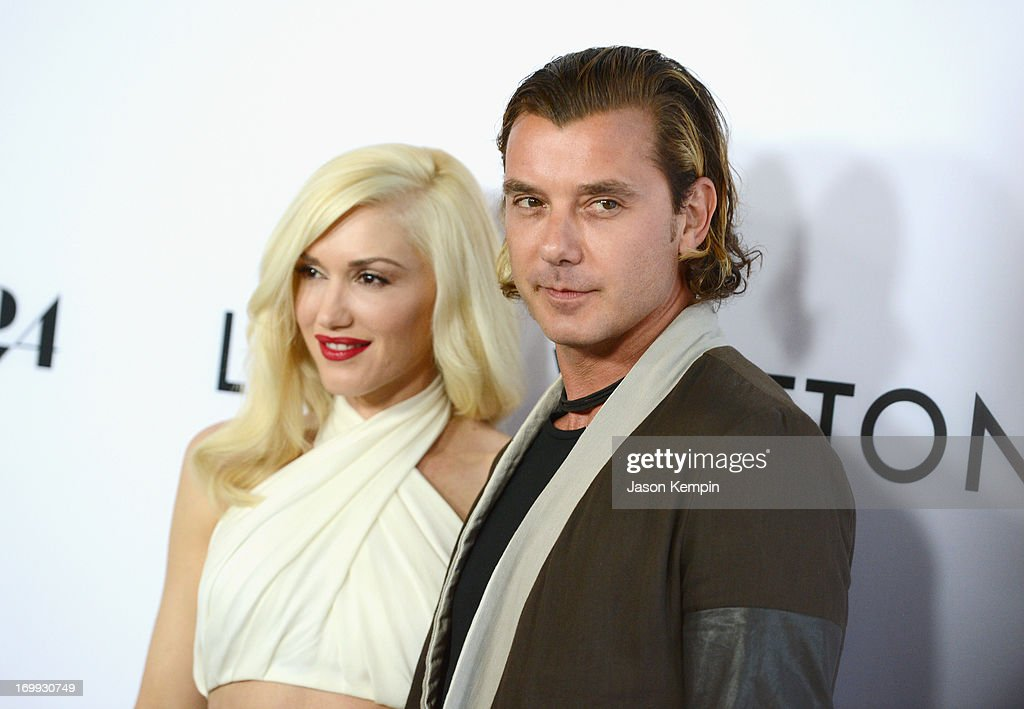 <a gi-track='captionPersonalityLinkClicked' href=/galleries/search?phrase=Gwen+Stefani&family=editorial&specificpeople=156423 ng-click='$event.stopPropagation()'>Gwen Stefani</a> and <a gi-track='captionPersonalityLinkClicked' href=/galleries/search?phrase=Gavin+Rossdale&family=editorial&specificpeople=203016 ng-click='$event.stopPropagation()'>Gavin Rossdale</a> attend the premiere of A24's 'The Bling Ring' at Directors Guild Of America on June 4, 2013 in Los Angeles, California.