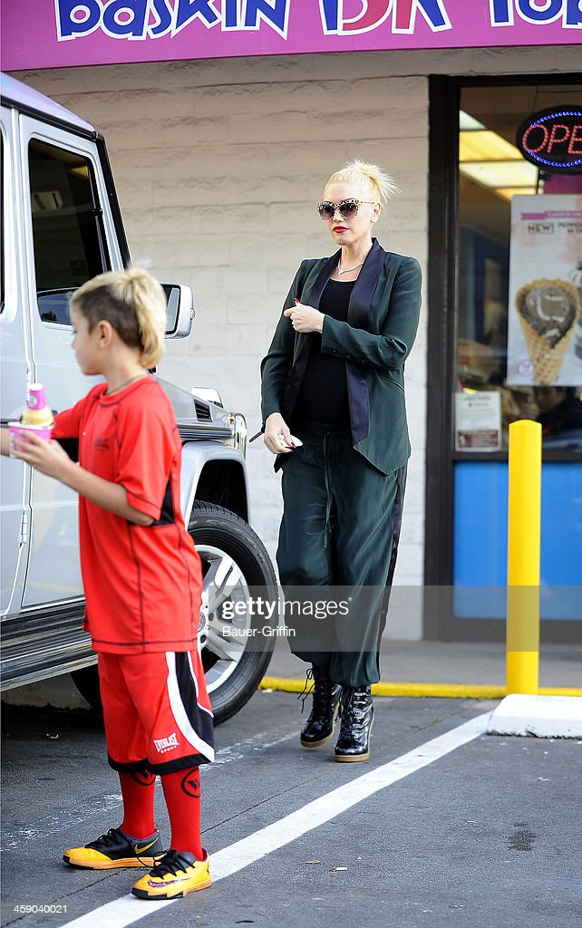 <a gi-track='captionPersonalityLinkClicked' href=/galleries/search?phrase=Gwen+Stefani&family=editorial&specificpeople=156423 ng-click='$event.stopPropagation()'>Gwen Stefani</a> and her son, <a gi-track='captionPersonalityLinkClicked' href=/galleries/search?phrase=Kingston+Rossdale&family=editorial&specificpeople=4484338 ng-click='$event.stopPropagation()'>Kingston Rossdale</a>, are seen on December 22, 2013 in Los Angeles, California.