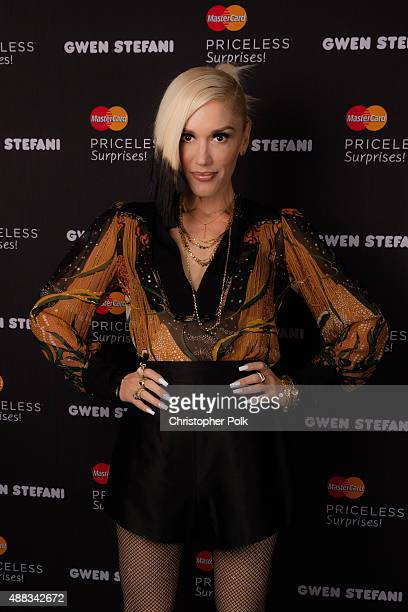 Gwen Stefani and MasterCard team up again to bring an exclusive performance to MasterCard cardholders on October 17th in New York City at Hammerstein...