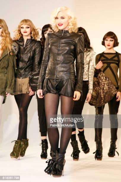 Gwen Stefani and Models attend LAMB Fall 2010 Presentation at Milk Studios on February 11 2010 in New York City