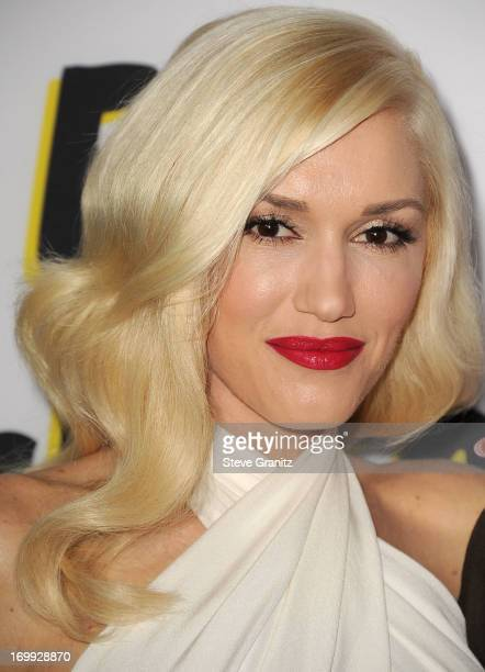 Gwen Stefani arrives at the 'The Bling Ring' Los Angeles Premiere at Directors Guild Of America on June 4 2013 in Los Angeles California