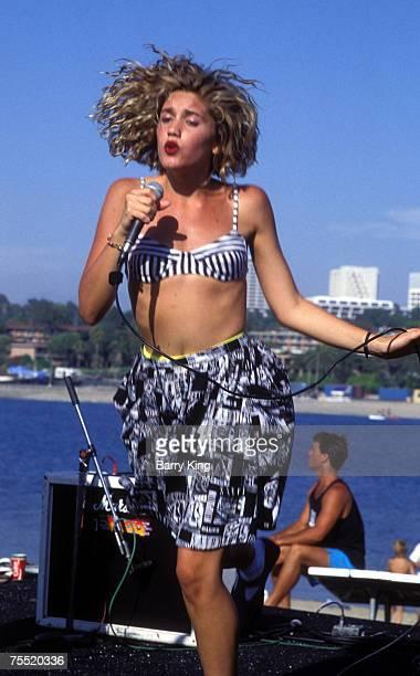 Gwen Stefani at the Newport Beach Concert in Newport Beach California