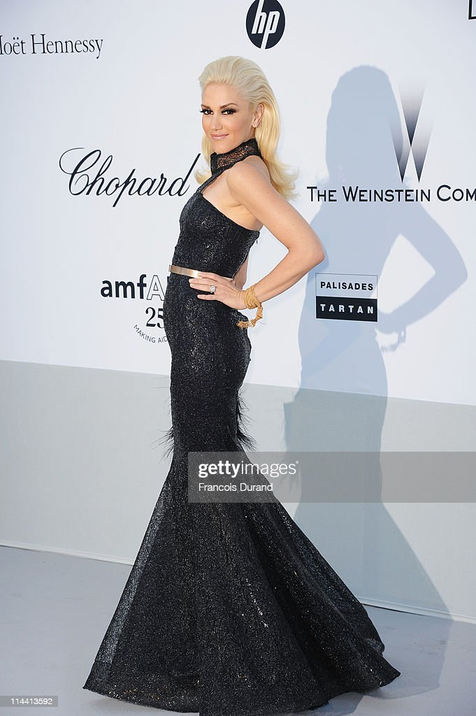 Gwen Stefani attends amfAR's Cinema Against AIDS Gala during the 64th Annual Cannes Film Festival at Hotel Du Cap on May 19 2011 in Antibes France