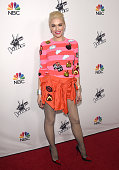 Gwen Stefani attends NBC's 'The Voice' Season 7 Red Carpet Event at HYDE Sunset Kitchen Cocktails on December 8 2014 in West Hollywood California