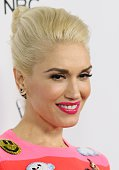 Gwen Stefani attends the NBC's 'The Voice' Season 7 Red Carpet Event held at HYDE Sunset Kitchen Cocktails on December 8 2014 in West Hollywood...
