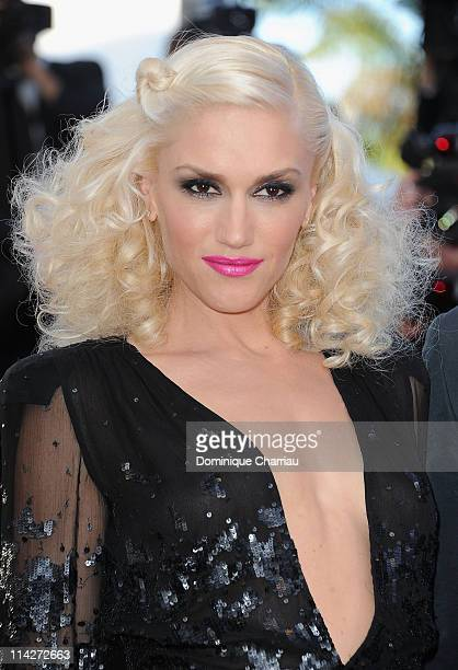 Gwen Stefani attends 'The Tree Of Life' Premiere during the 64th Annual Cannes Film Festival at Palais des Festivals on May 16 2011 in Cannes France