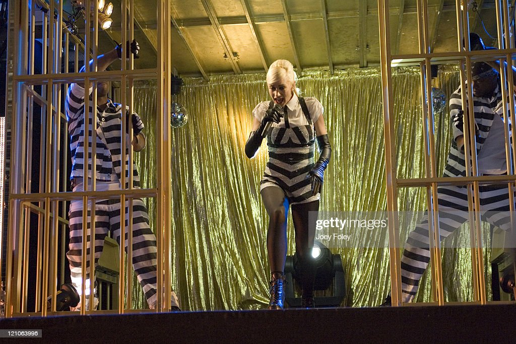 Gwen Stefani during Gwen Stefani in Concert at Verizon Wireless Music Center - June 02, 2007 at Verizon Wireless Music Center in Indianapolis, Indiana, United States.