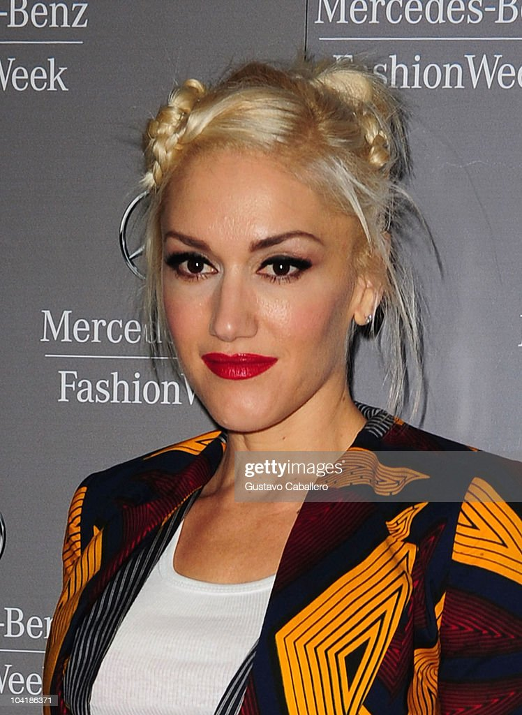 Gwen Stefani is seen around Lincoln Center during Mercedes-Benz Fashion Week on September 16, 2010 in New York City.